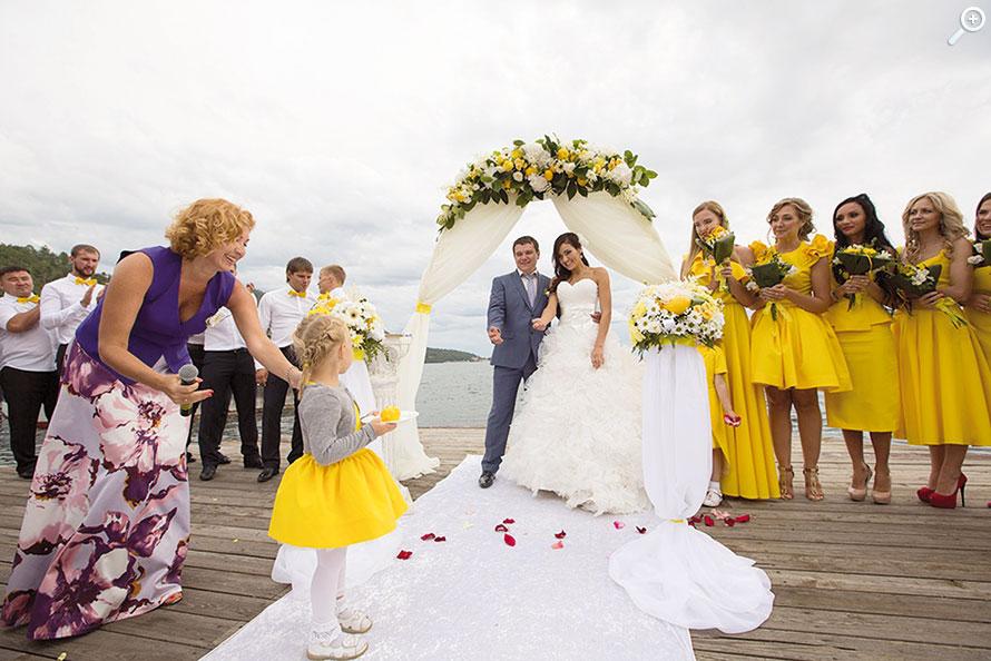 Организация тематической свадьбы
