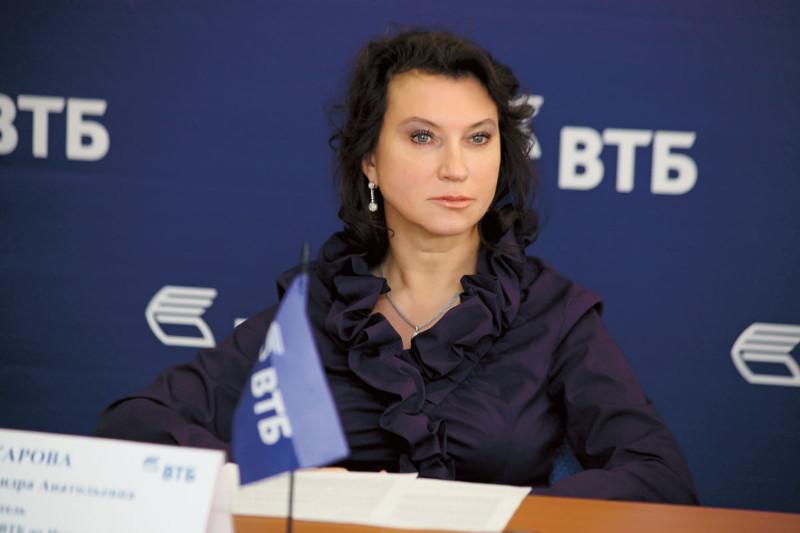 <p>Александра Макарова, руководитель дирекции ВТБ по Иркутской области</p>  <p>Фото А.Федорова</p>