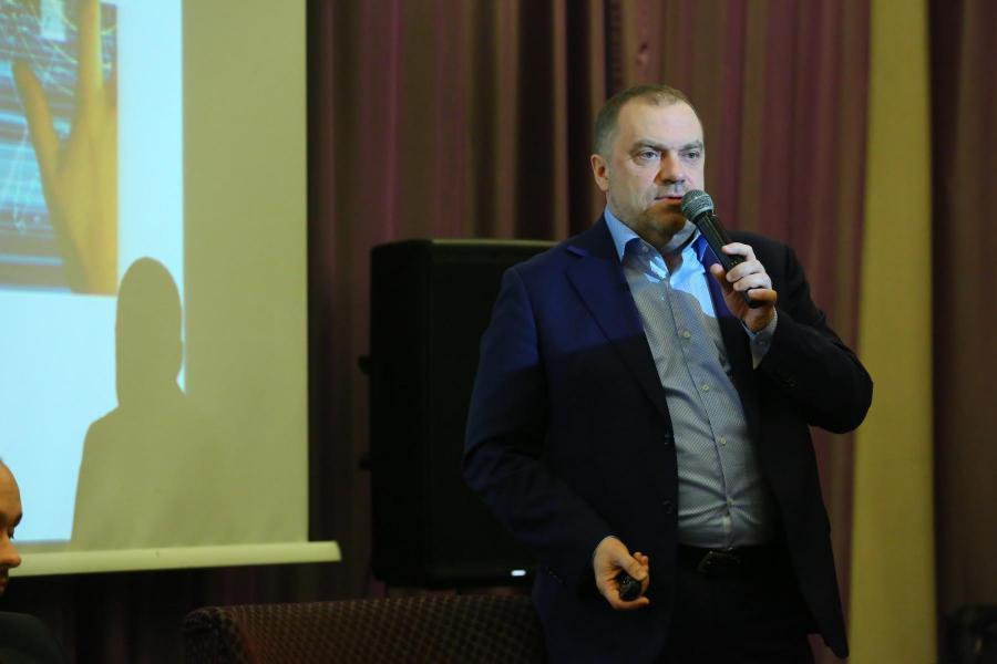 <p>Александр Кареевский, обозреватель телеканала «Россия24».<br /> Фото А. Федорова</p>