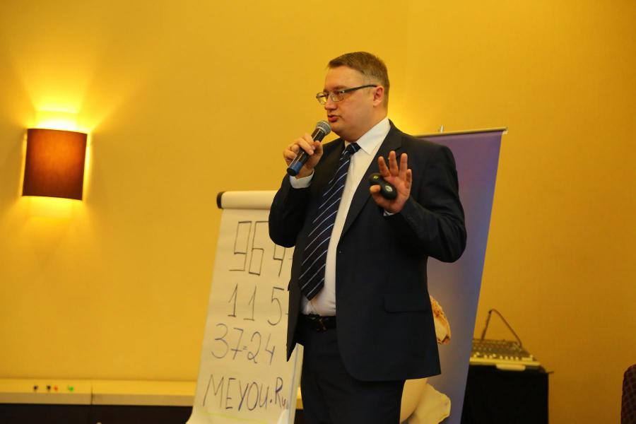 <p>Эдуард Семёнов, управляющий офисом БКС Премьер в Иркутске.<br /> Фото А. Федорова</p>