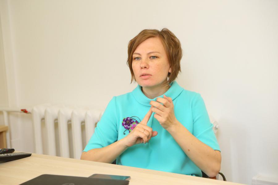 <p>Елена Проскурина, менеджер по интегрированным коммуникациям ПАО «Вымпелком» Дальний Восток.<br /> Фото А. Федорова</p>