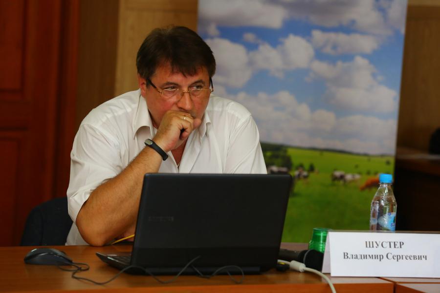 <p>Владимир Шустер, начальник отдела страховой экспертизы и космического мониторинга</p>