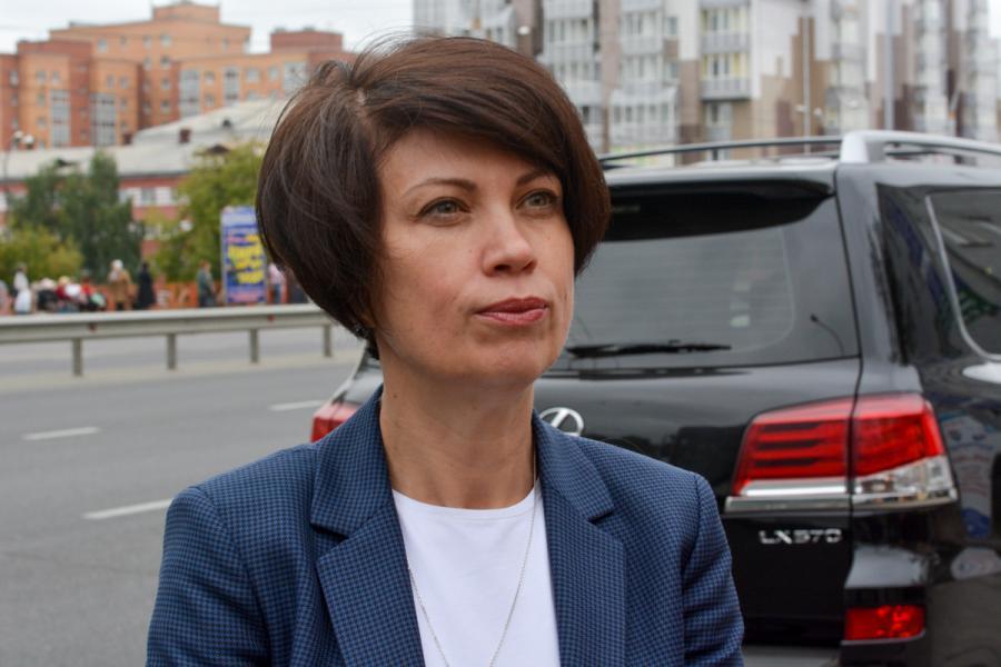 <p><em>Елена Федорова, заместитель мэра&nbsp; Иркутска.<br /> Фотографии Е. Скубиевой</em></p>
