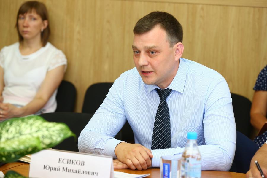 <p>Юрий Есиков, начальник управления по развитию программ и работе с региональными АПК</p>