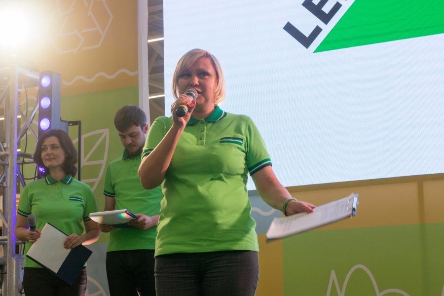 <p>Наталья Москаленко, директор магазина Леруа Мерлен Иркутск</p>