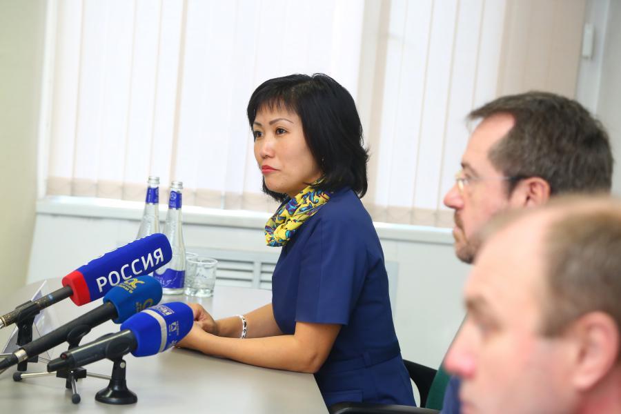 <p>Ли Маргарита, руководитель аппарата мэрии Иркутска.<br /> Фото:&nbsp; А. Фёдоров</p>