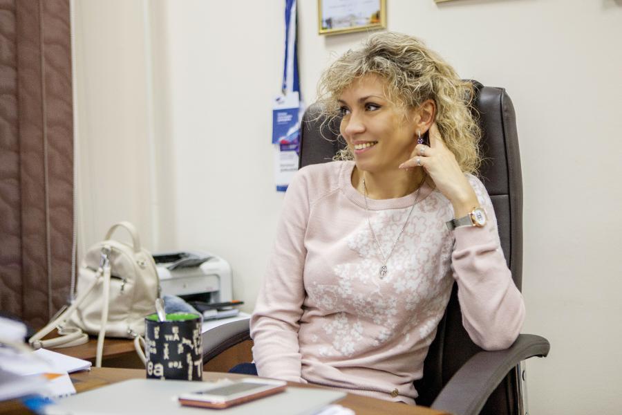 <p>Наталья Давыдова, директорФонда поддержки предпринимательства Иркутской области</p>