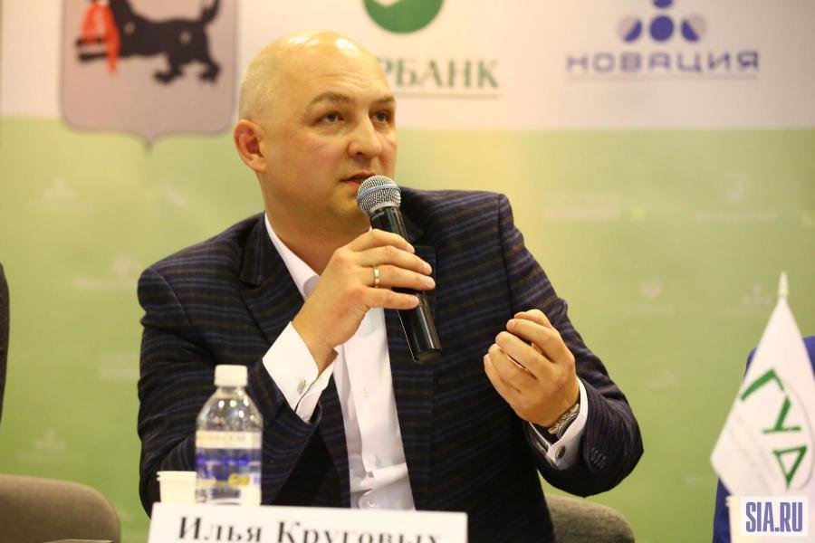 <p>Илья Круговых, РГУД.<br /> Фото: А. Фёдоров</p>