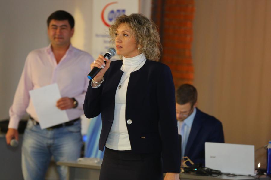 <p>Наталья Давыдова, руководитель Фонда поддержки предпринимательства.<br /> Фото: А. Фёдоров</p>