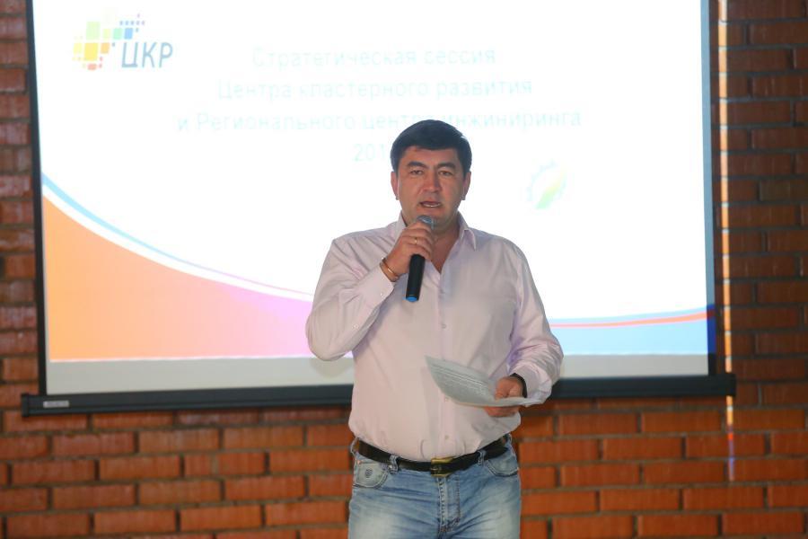 <p>Трофим Чернов, руководитель Регионального центра инжиниринга.<br /> Фото: А. Фёдоров</p>
