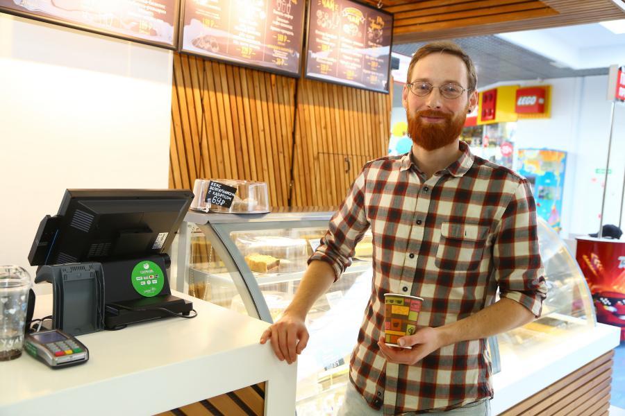 <p>Торговая точка Castro Café в ТРК «КомсоМОЛЛ».<br /> Фото: А. Фёдоров</p>