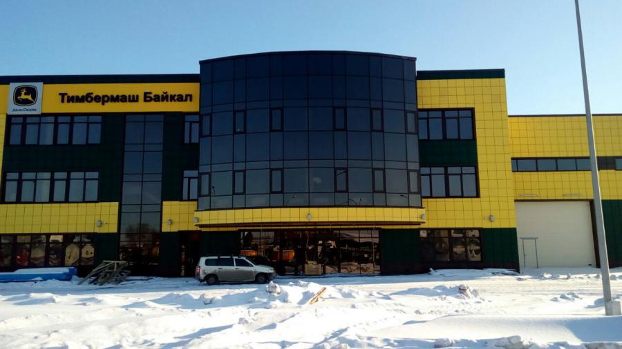 <p>Строящийся сервисный центр компании &quot;Тимбермаш Байкал&quot;, Иркутск, 2017 год.<br /> Фото предоставлено пресс-службой компании.</p>