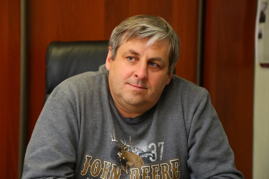 <p>Виктор Болдаков, генеральный директор &quot;Тибермаш Байкал&quot;.<br /> Фото: А. Фёдорова</p>