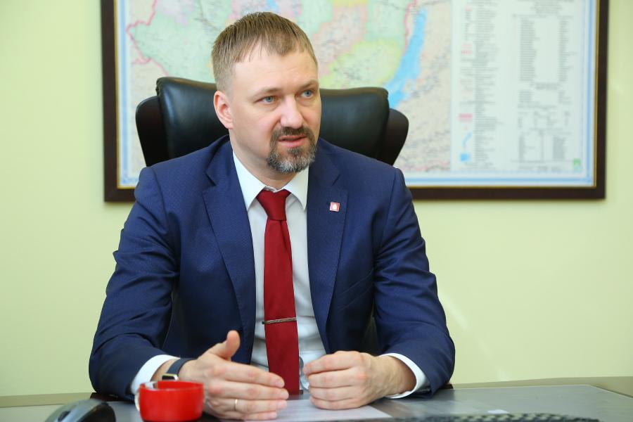 <p>Андрей Березной, директор филиала МТС в Иркутской области.<br /> Фото : А. Фёдоров</p>