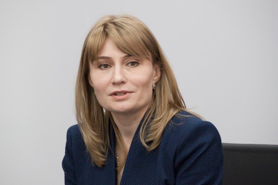 <p>Екатерина Лебедева, директор &nbsp;дилерского центра &quot;Байкалит-СКЦ&quot;.<br /> Фото: Н. Понамарёва</p>