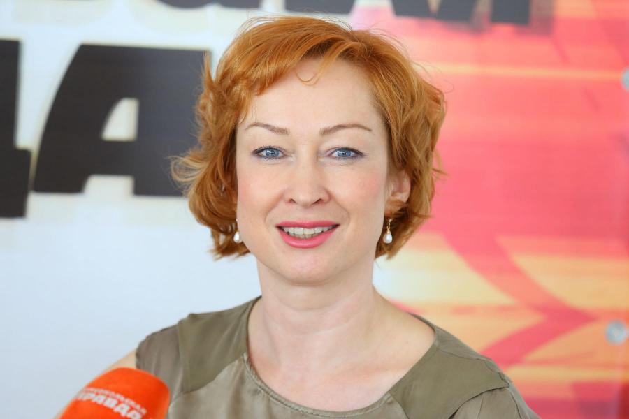 <p>Оксана Лобова, заместитель председателя Байкальского банка Сбербанка<br /> Фото: А. Фёдоров</p>