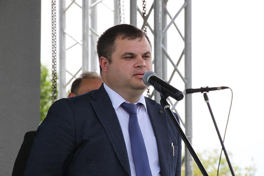 <p>Андрей Рыков, генеральный директор ООО &laquo;Фармасинтез-Хеми&raquo;.<br /> Фото: Н. Понамарёва</p>