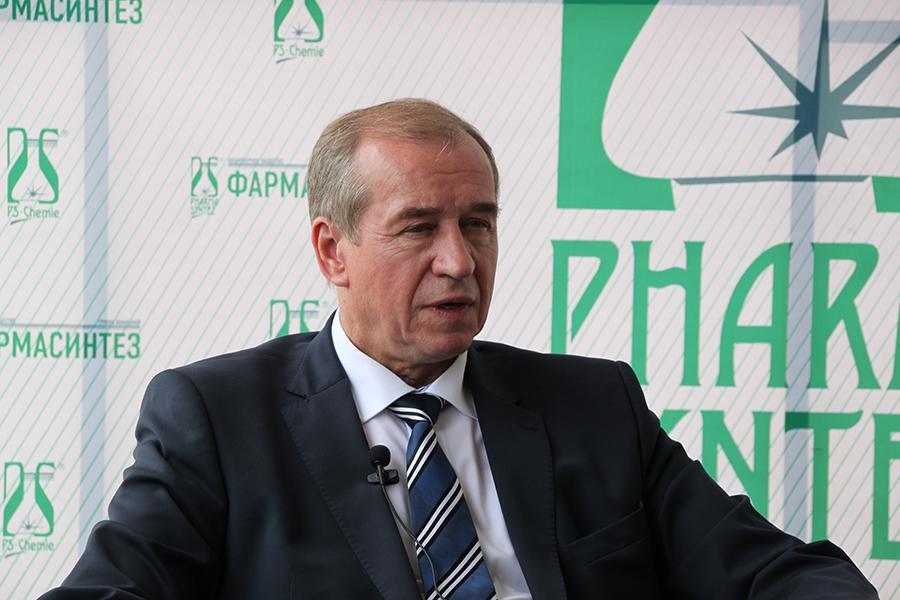 <p>Сергей Левченко, Губернатор Иркутской области.<br /> Фото: Н. Понамарёва</p>