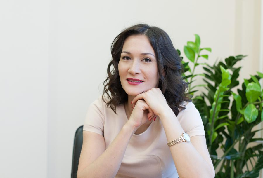 <p>Диляра Окладникова, руководитель Иркутского областного гарантийного фонда</p>
