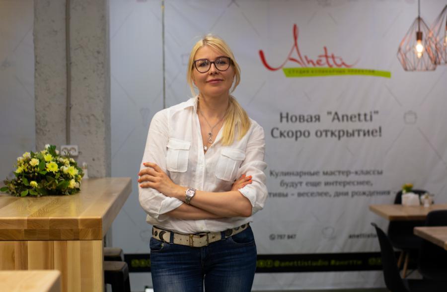 <p>Анна Логинова, основательница Anetti.<br /> Фото: Е. Скубиева</p>