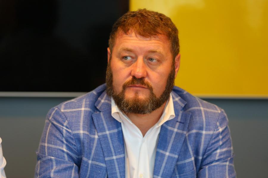 <p>Михаил Сигал, генеральный директор АО «Восток Центр Иркутск».<br /> Фото: А. Фёдоров</p>