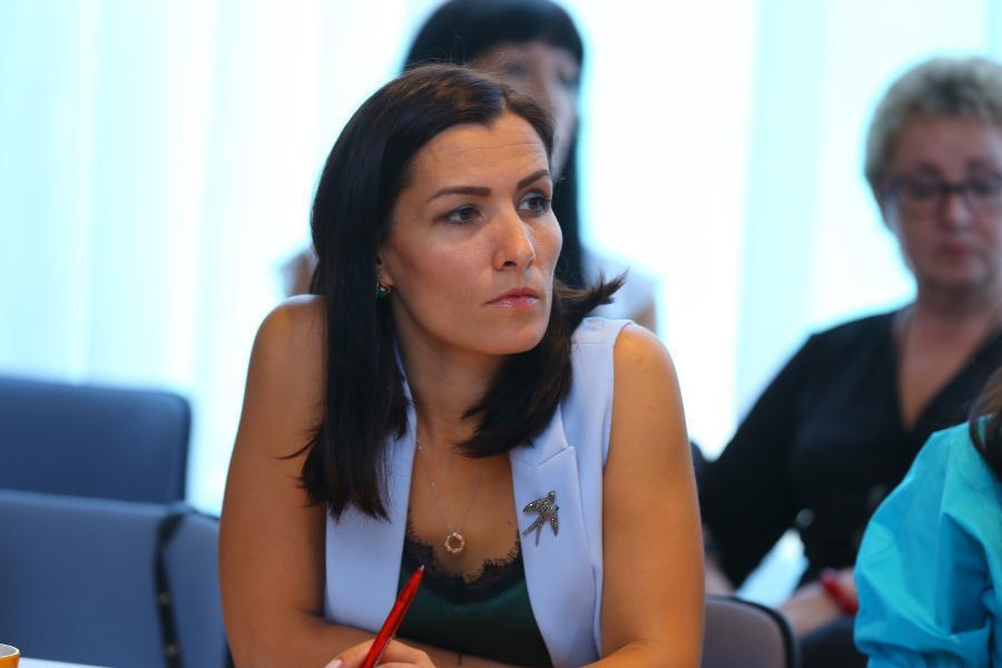 <p>Наталья Зверева, заместитель генерального директора АО «Восток Центр Иркутск».<br /> Фото: А. Фёдоров</p>