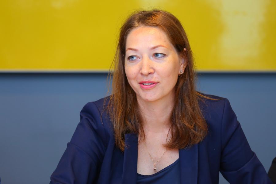 <p>Екатерина Прядко, генеральный директор ООО «Гранд-Строй».<br /> Фото: А. Фёдоров</p>