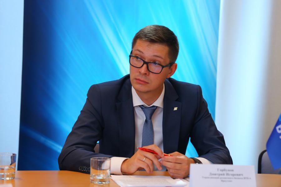 <p>Дмитрий Горбунов, управляющий розничного бизнеса ВТБ в Иркутске.<br /> Фото: А. Фёдоров</p>