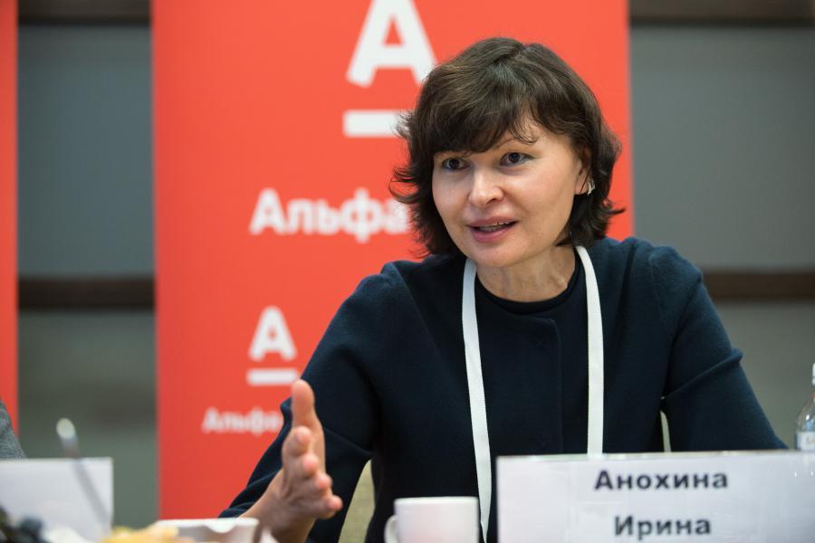 <p>Ирина Анохина, директор по развитию малого бизнеса Альфа-Банка.<br /> Фото: Е.Козырев</p>