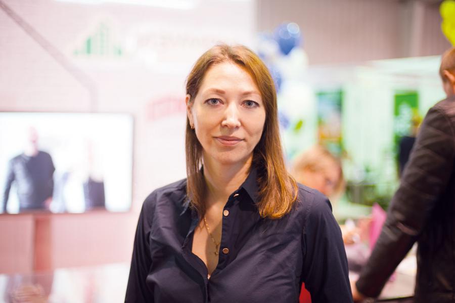 <p>Екатерина Прядко, ГрандСтрой. фото - Дмитрий Свищев</p>
