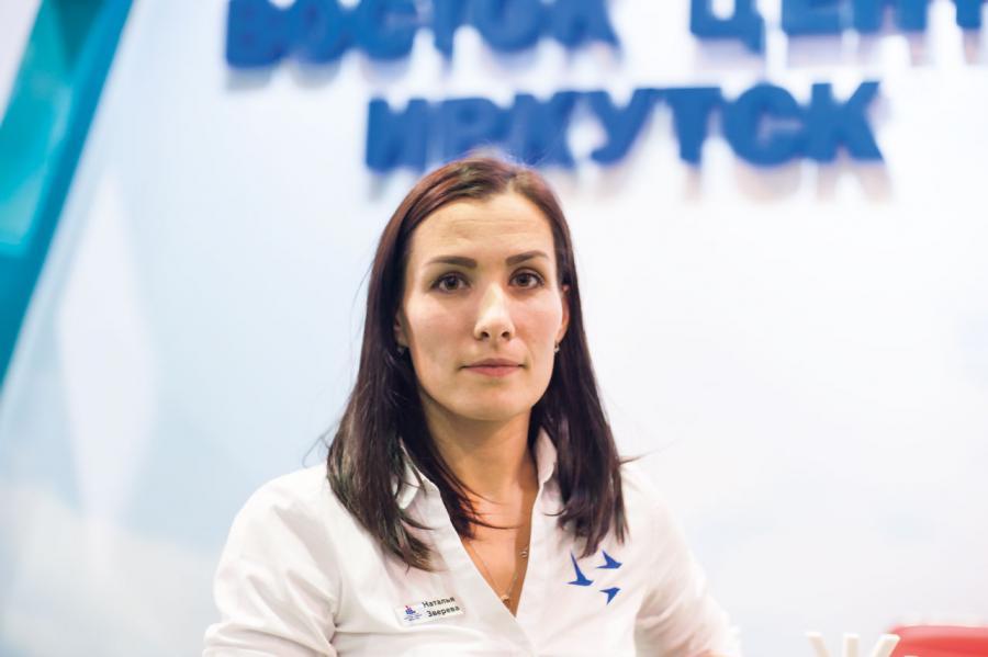<p>Наталья Зверева, Восток Центр Иркутск. фото - Дмитрий Свищев</p>