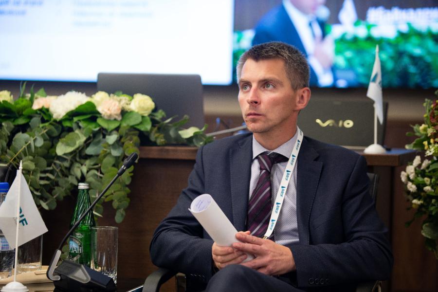 <p>Александр Стрельников, начальник отдела предприятия добычи нефти и газа мирового страхового брокера Marsh.<br /> Фото: Е. Козырев</p>