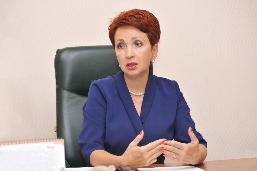 <p>Ольга Мосина, директорФондамикрокредитования Иркутской области.<br /> Фото: А.Свищёва.</p>