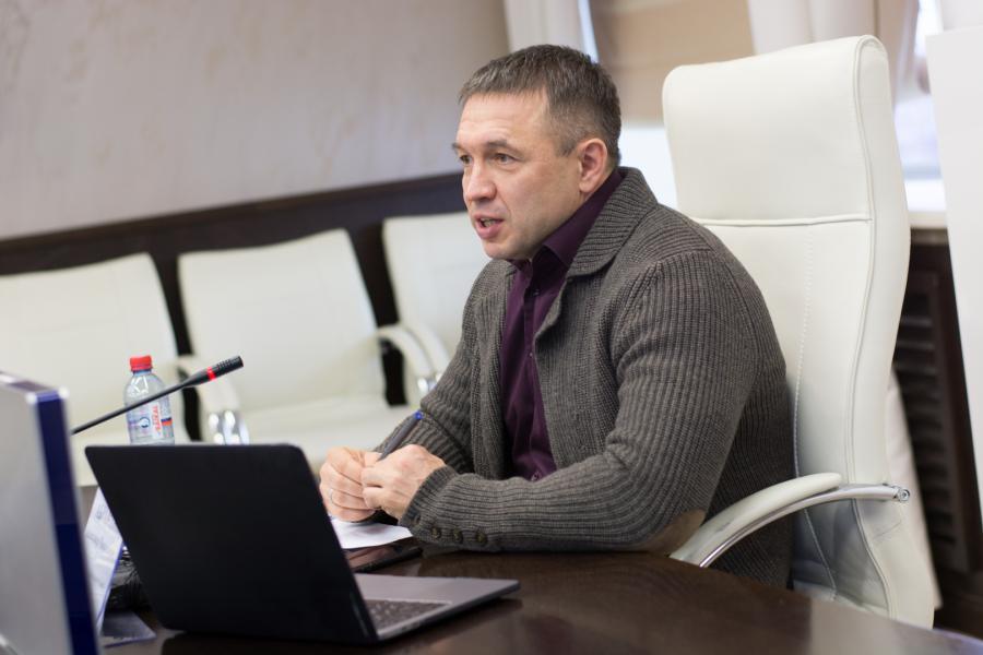 <p>Александр Абрамкие, Председатель&nbsp;Байкальского банка&nbsp;ПАО &laquo;Сбербанк&raquo;.<br /> Фото Е.Скубиевой</p>