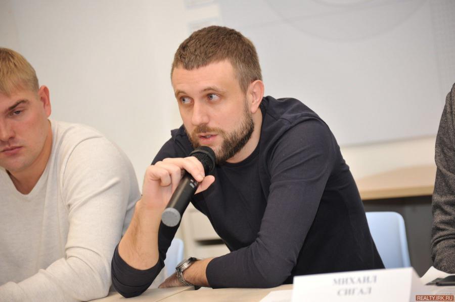 <p>Михаил Ивлев, финансовый директор АО «Восток Центр Иркутск», фото - Д.Свищев</p>