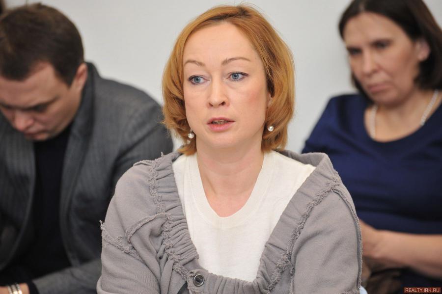 <p>Оксана Лобова, заместитель председателя Байкальского банка ПАО Сбербанк,фото - Д.Свищев</p>