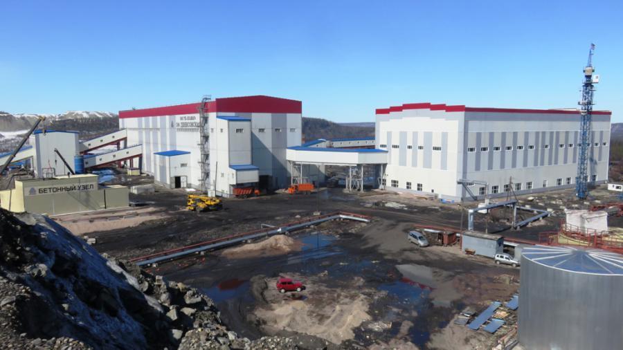 <p>ГОК Денисовский, фабрика.Фото из архива компании.</p>