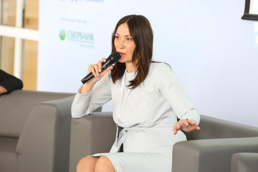 <p>Диляра Окладникова.<br /> Фото: А. Фёдоров</p>