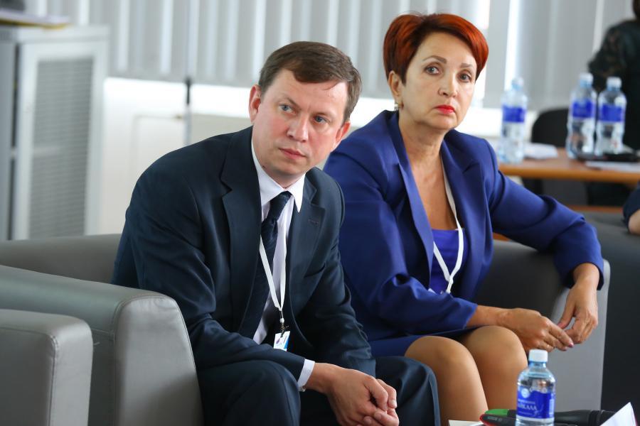 <p>Ольга Мосина (справа).<br /> Фото: А. Фёдоров</p>