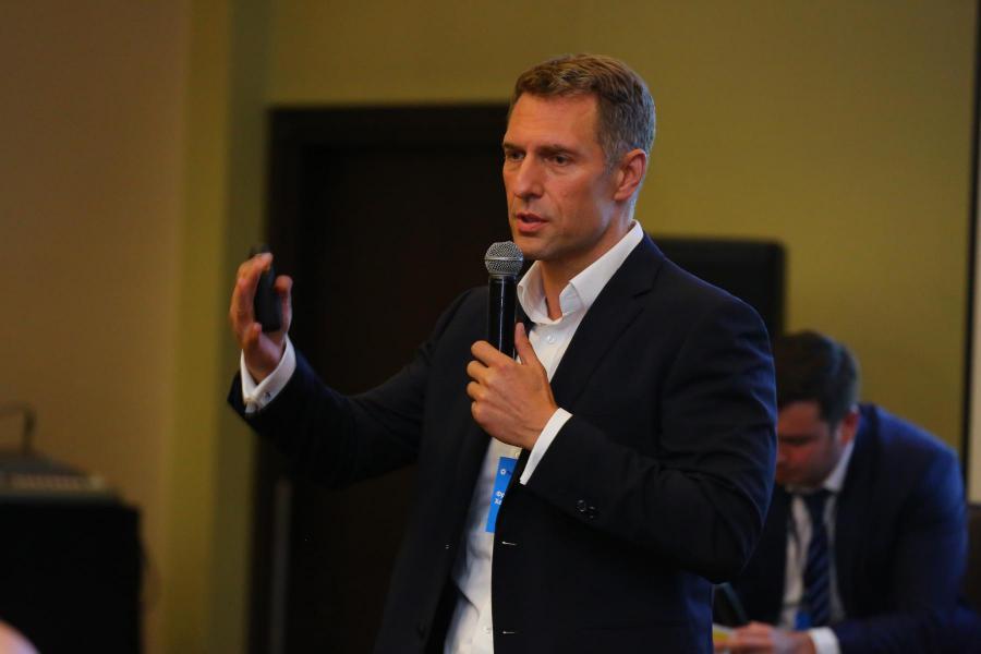 <p>Франц Хеп, управляющий директор по развитию структурных продуктов «БКС Капитал».<br /> Фото: А. Фёдоров</p>