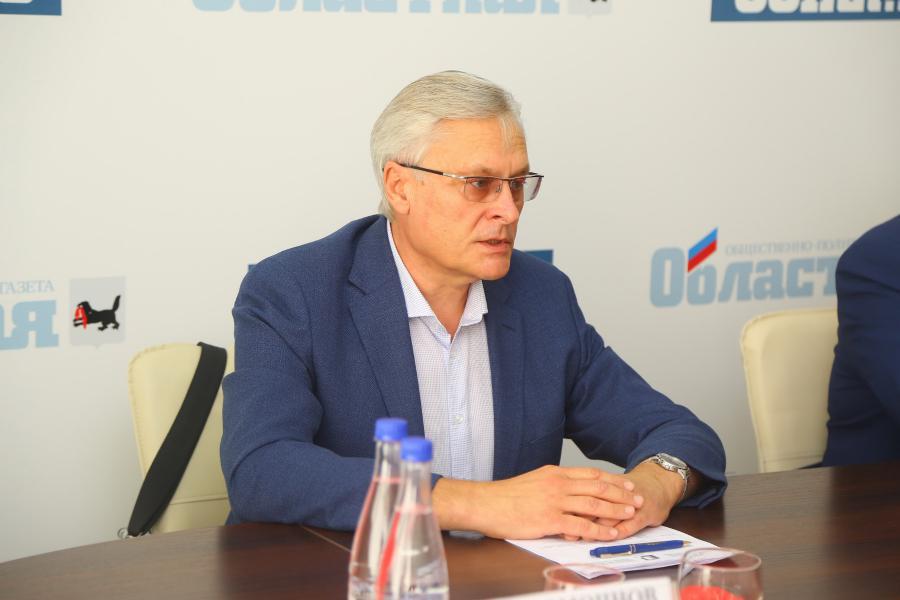 <p>Алексей Соболь, президент Торгово-промышленной палаты Восточной Сибири.<br /> Фото: А. Фёдоров</p>