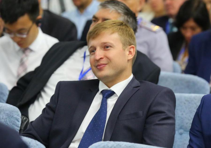 <p>Илья Сумароков,министр сельского хозяйства Иркутской области.<br /> Фото: А. Фёдоров</p>