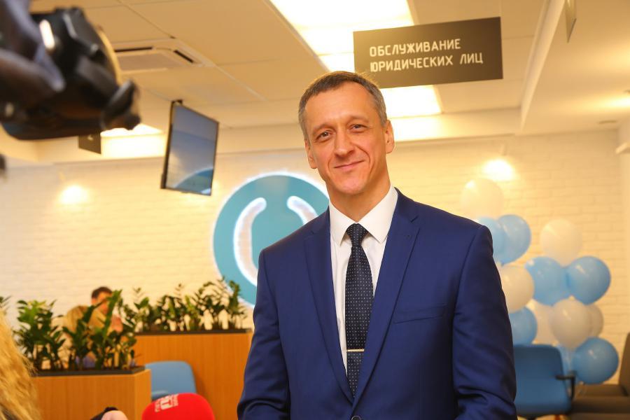 <p>Владимир Чернышев, управляющий банком «Открытие» в Иркутской области.<br /> Фото: А. Фёдоров</p>