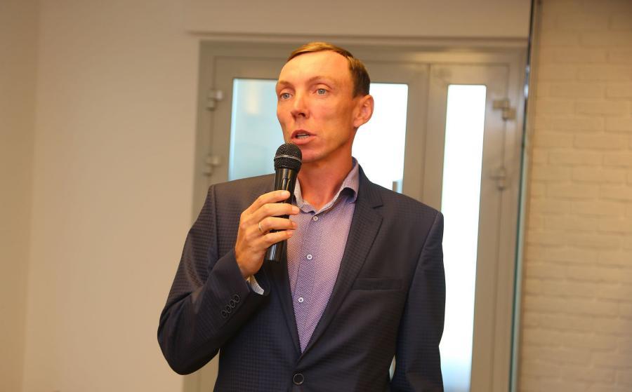 <p>Алексей Фичко, МУП «Горгтранс».<br /> Фото: А. Фёдоров</p>