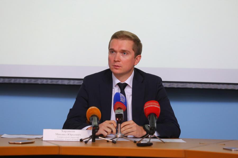 <p>Михаил Хардиков, генеральный директор компании «ЕвроСибЭнерго.<br /> Фото: А. Фёдоров</p>