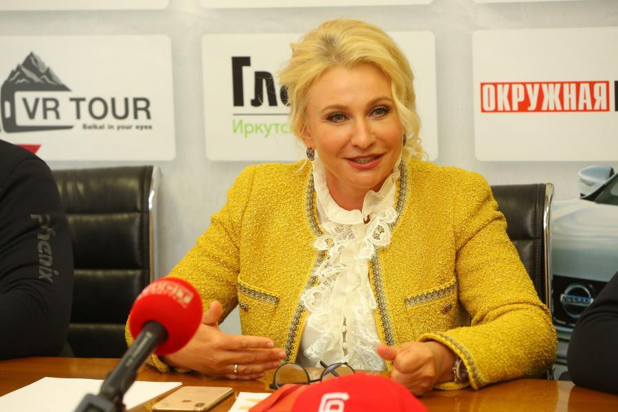 <p>Вероника Шородок, директор «Байкальской региональной компании» (БРК).<br /> Фото: А. Федоров</p>
