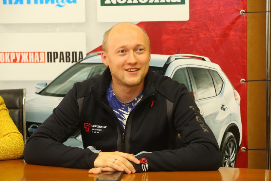 <p>Александр Откидач, общественный деятель и предприниматель.<br /> Фото: А. Федоров</p>