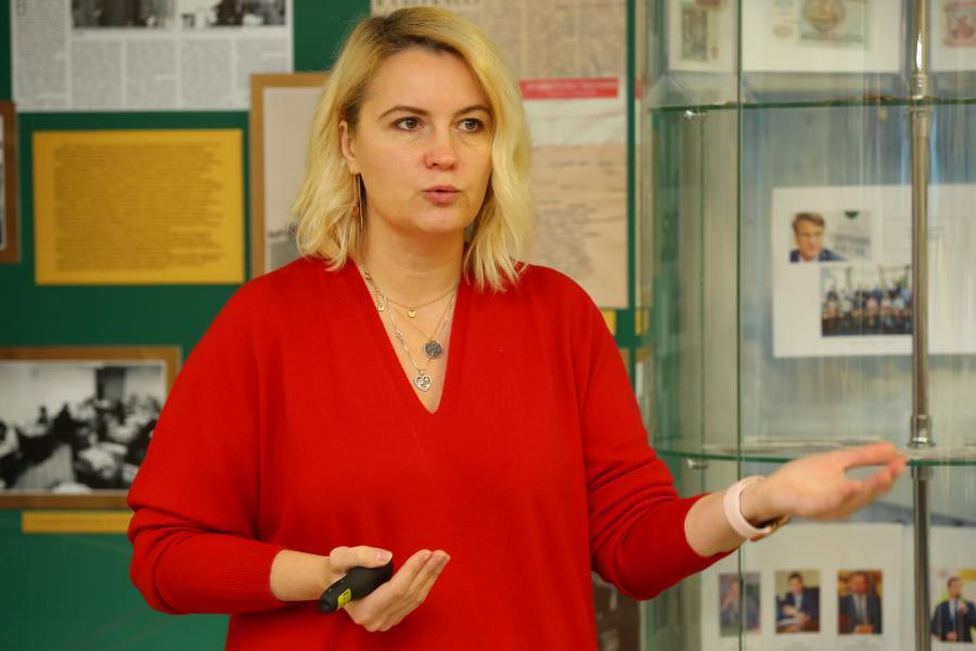 <p>Наталья Волощенко, директор управления продаж крупному и среднему бизнесу Байкальского банка Сбербанка.</p>