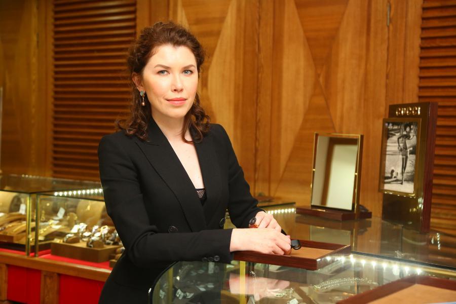<p>Татьяна Писарева, коммерческий директор SHENE ювелир.<br /> Фото: А.Федорова.</p>