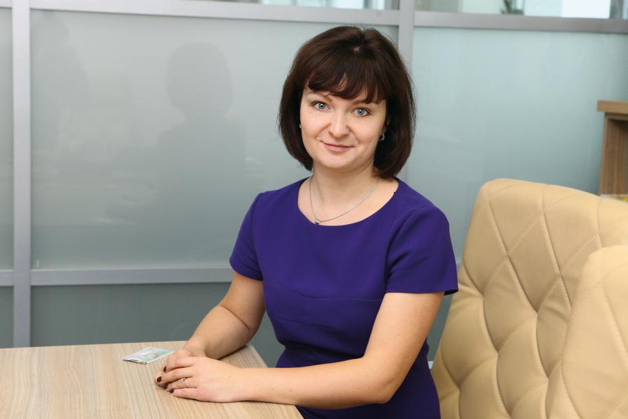 <p>Дарья Ефимова, заместитель управляющего Иркутским отделением Сбербанка</p>